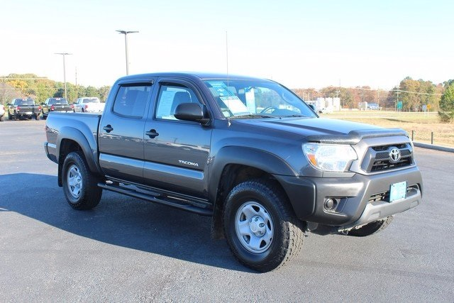 certified pre owned 2014 toyota tacoma base 4d double cab in mount pleasant c9649b elliott. Black Bedroom Furniture Sets. Home Design Ideas
